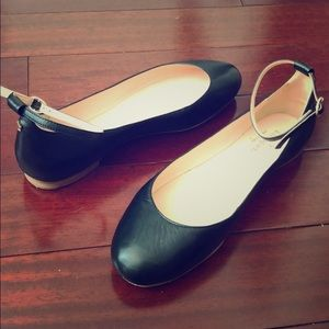 Kate Spade Ankle Strap Flats